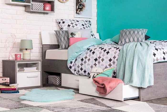Идеи обустройства зоны сна в детской комнате, фото