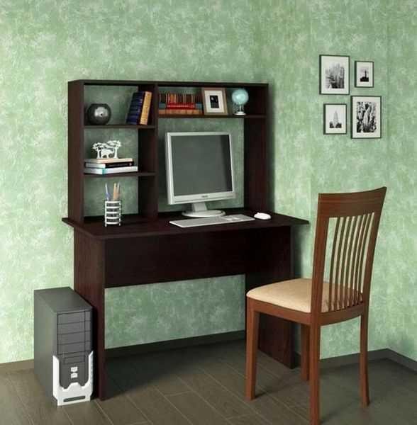 Письменный стол Милан 5 с надставкой в интерьере детской комнаты, фото